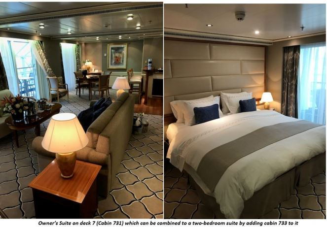 owner suite deck 7